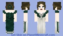 1888 Imperial Court Gown Minecraft Skin