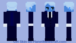 hades (lore olympus) Minecraft Skin