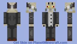 Submission for BookshelfHobnob Minecraft Skin