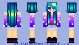 Above the Clouds Minecraft Skin