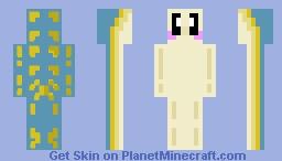 Nudibranch! (seaslug) Dark Depths contest Minecraft Skin