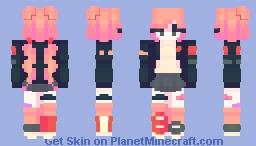 🅚🅘🅝🅓🅐 🅟🅤🅝🅚 Minecraft Skin