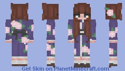 kimono girl Minecraft Skin