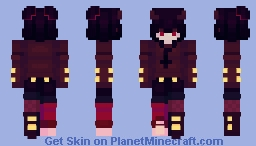 another edgy thing Minecraft Skin