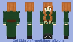 Anne of green gables Minecraft Skin