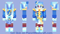 .;* poka poka planet . snow miku 2020 *;. Minecraft Skin
