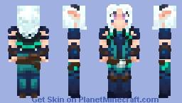 Dragon Prince Rayla Minecraft Skin