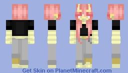 yet another demon egirl Minecraft Skin