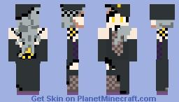 Sae Niijima (Shadow) | Persona 5 Minecraft Skin