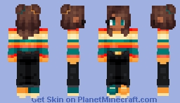 Striped Sweater 🧥🍂 Minecraft Skin