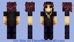 Bon Scott Highway To Hell Album Cover Minecraft Skin