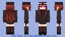 Andr The Enderman (My version again :D) Minecraft Skin