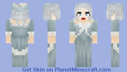 -Marie Antoinette with Rose- [✓] Minecraft Skin