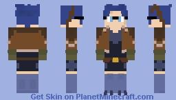 Arrastra Skye (RWBY: The Grimm Campaign) Minecraft Skin