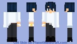 Its just another danganronpa oc Minecraft Skin