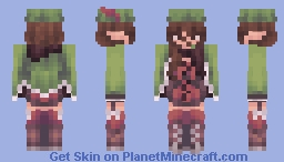 that's a feather in my cap ♡ Minecraft Skin