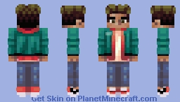 Miles morales (spiderman into the spider-verse) Minecraft Skin