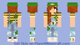 Irish Bee Girl Minecraft Skin