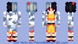 Touhou 17, Wily Beast and Weakest Creature: Urumi Ushizaki Minecraft Skin