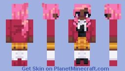 Cherri Floss Minecraft Skin