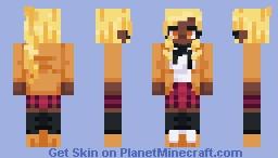 Lemon Floss Minecraft Skin