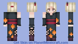 Tsukuyo - Gintama / Request Minecraft Skin