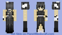 BabyDoll~ (BATIM OC) 2. as in it's the second out of three, i'm not posting the first one -w-;; only the second and third one. Minecraft Skin