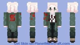 + Nagito Komaeda + Minecraft Skin