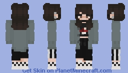 Oh and shroom Minecraft Skin