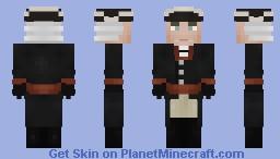 Fredrick II Von Preußen Minecraft Skin