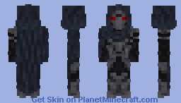 The Knight of the Blood-Order Minecraft Skin