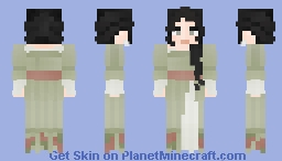 [LoTC] Free To Use, Flower Girl Minecraft Skin