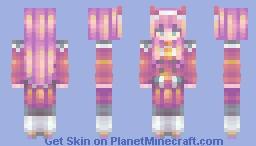𝓭𝓪𝓻𝓵𝓲𝓷𝓰 ♡【darling in the franxx - zero two】 Minecraft Skin
