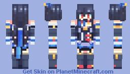 [VVVtunia] Noire Minecraft Skin
