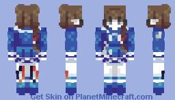 + Wadanohara + Minecraft Skin