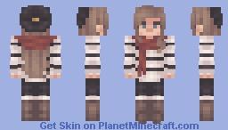 ៚One night in september ೃ࿔↷ Minecraft Skin