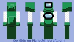 Fortegreen Crewmate - Among Us (Java Friendly) Minecraft Skin