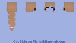 challah bread (hair base) Minecraft Skin