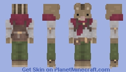 Chipmunk Scavenger [Contest Entry] Minecraft Skin