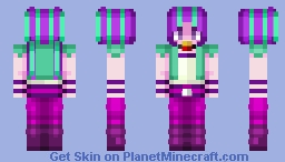 Aria Blaze - My Little Pony - Request Minecraft Skin