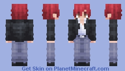 Karma Akabane | Assassination Classroom Minecraft Skin