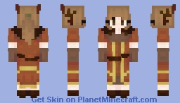 Forest Protector (I made a skin of a mini I painted!) Minecraft Skin