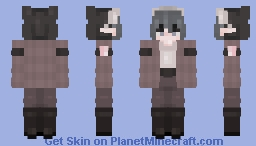 ; - Bleu Riv - ; Minecraft Skin