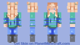how should i call her - PCE Minecraft Skin
