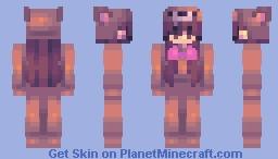 teddy girl Minecraft Skin