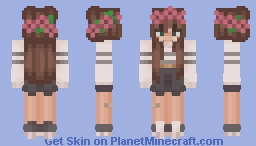 "Skin for a friend: ""Something something... Claire"" Minecraft Skin"