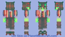 I salute your spunk, but I question your sanity Minecraft Skin