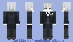 """Sigh…I've spoiled my best tuxedo."" // Lich Arklow // Evillious Chronicles Minecraft Skin"