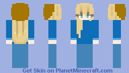 I finally actually did some shading and it didn't turn out very bad! Minecraft Skin