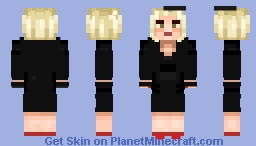 [Umbrella Academy] The Handler Minecraft Skin